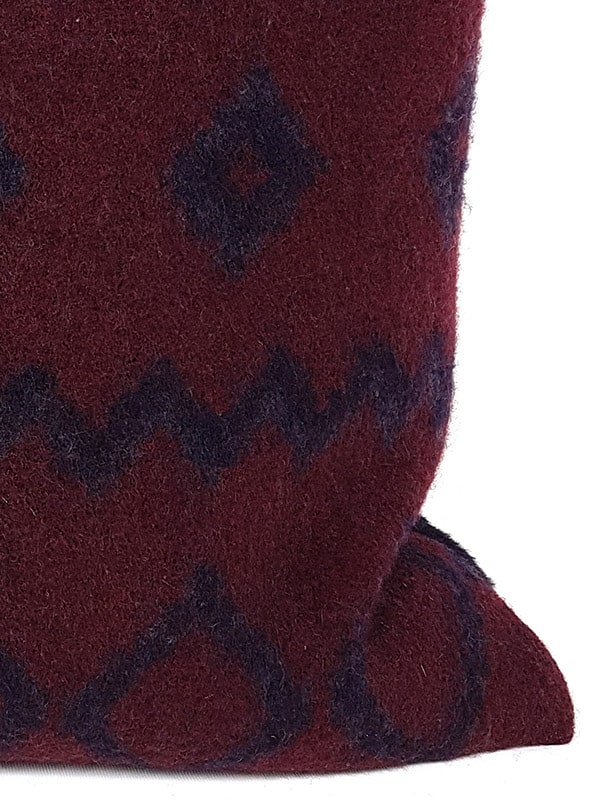 Aritzia Boiled Wool Mud Cloth Throw Pillow Zoom