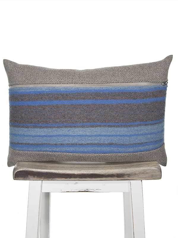 Azure South American Lumbar Pillow