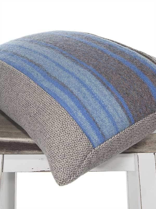 Azure South American Lumbar Pillow Corner