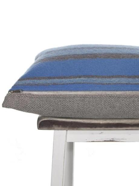 Azure South American Lumbar Pillow Zipper