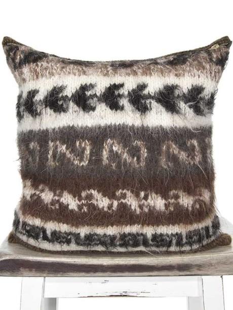 Bolivian Alpaca Throw Pillow