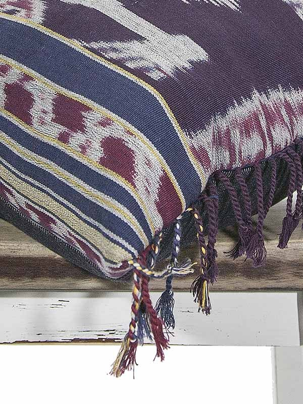 Indonesian Ikat Throw Pillow My Vintage Pillow