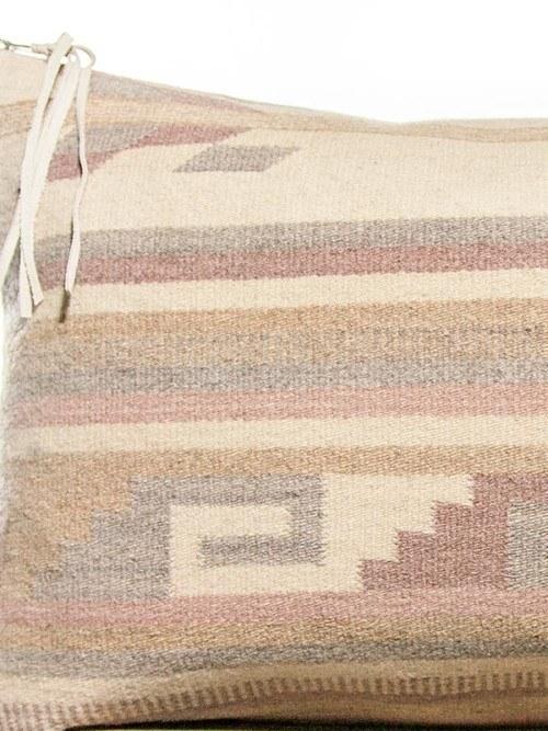 Mauve Vintage Navajo Lumbar Pillow Zoom