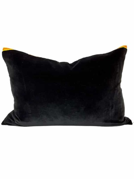Vintage Granny Smith Serape Lumbar Pillow Back