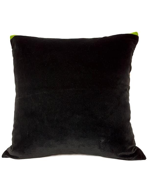 Vintage Granny Smith Serape Throw Pillow Back