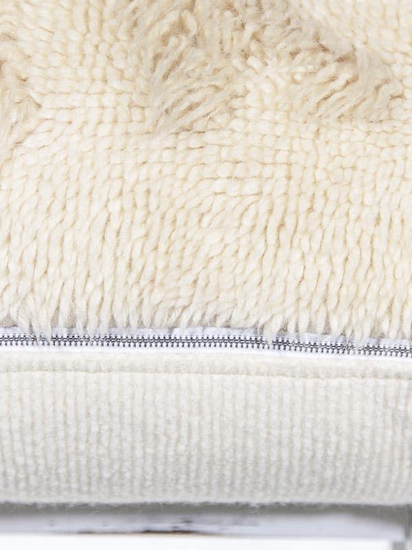 Vintage Latch Hook Starfish Floor Pillow Zipper Zoom
