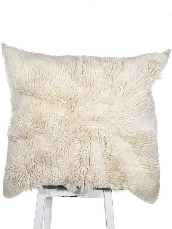 Vintage Latch Hook Starfish Floor Pillow