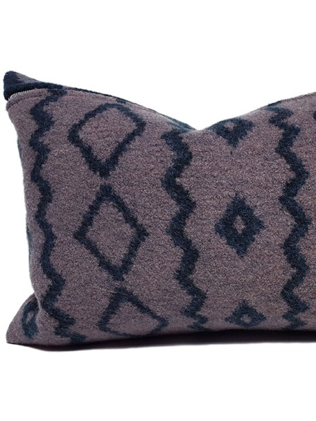 Aritzia Boiled Wool Lumbar Pillow Feature