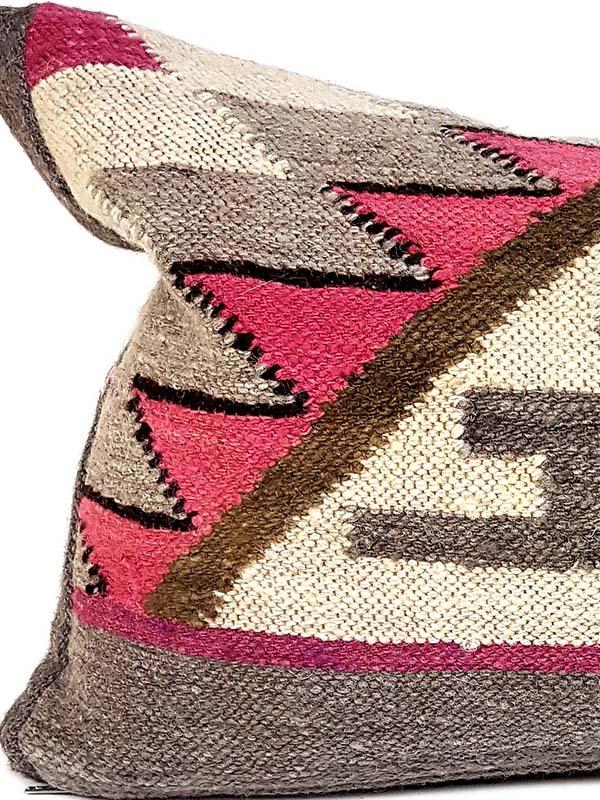 Carob Navajo Lumbar Pillow Zoom