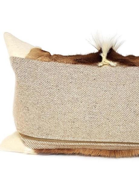 Goat Mohawk Lumbar Pillow Back