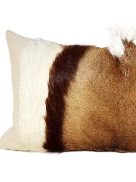 Goat Mohawk Lumbar Pillow Feature