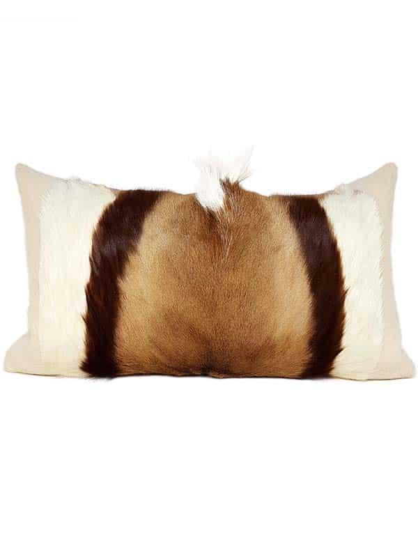 Goat Mohawk Lumbar Pillow Front