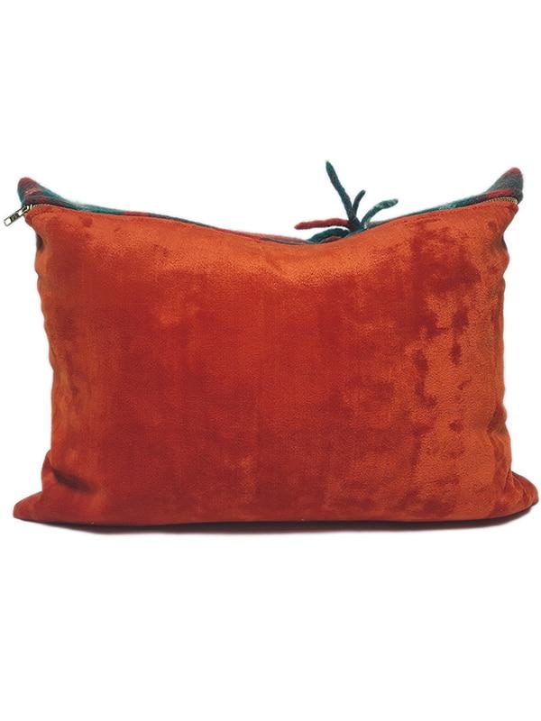 Macgregor Clan Tartan Lumbar Pillow Back