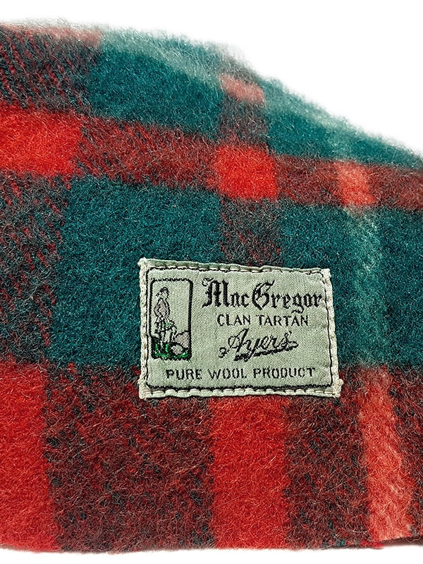Macgregor Clan Tartan Lumbar Pillow Tag