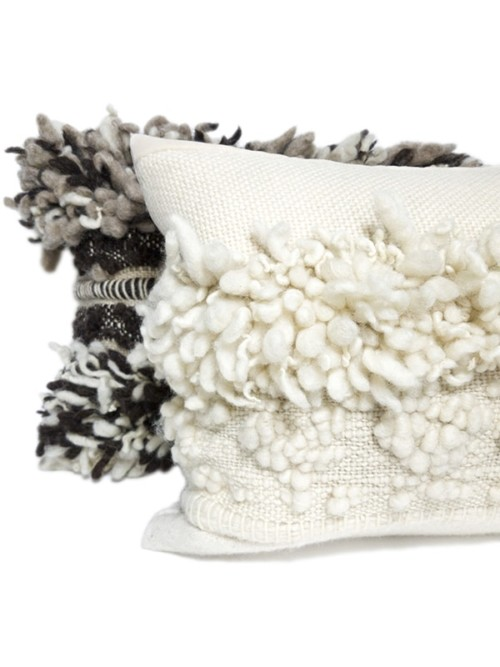 Macramé Small Lumbar Pillow Pair