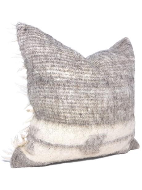 Momostenango Wool Chevron Throw Pillow Side
