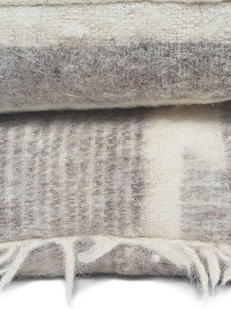Momostenango Wool Chevron Throw Pillow Stack