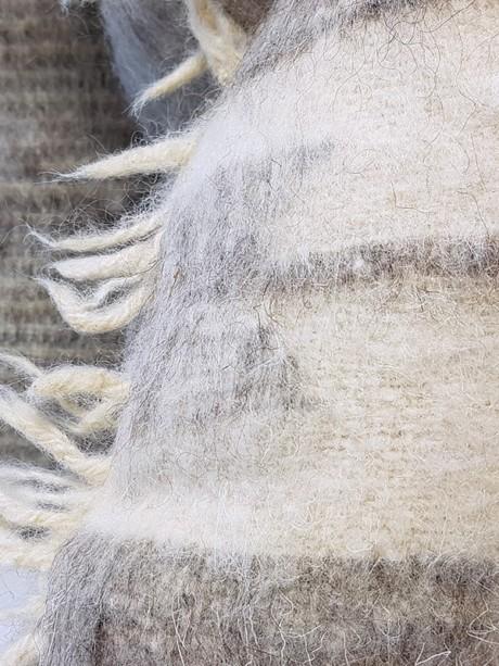 Momostenango Wool Chevron Throw Pillow Zoom