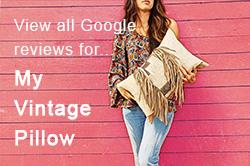 My Vintage Pillow Google Reviews Button