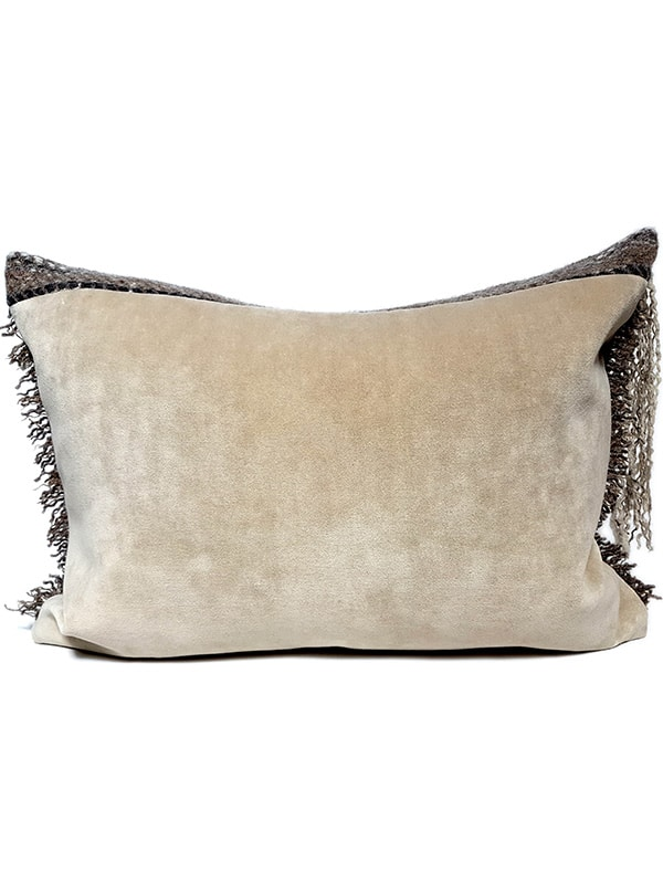 Scottish Highland Small Lumbar Pillow Back