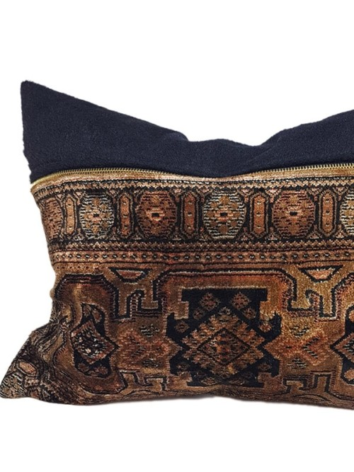 Turkish Silk Rug Small Lumbar Feature