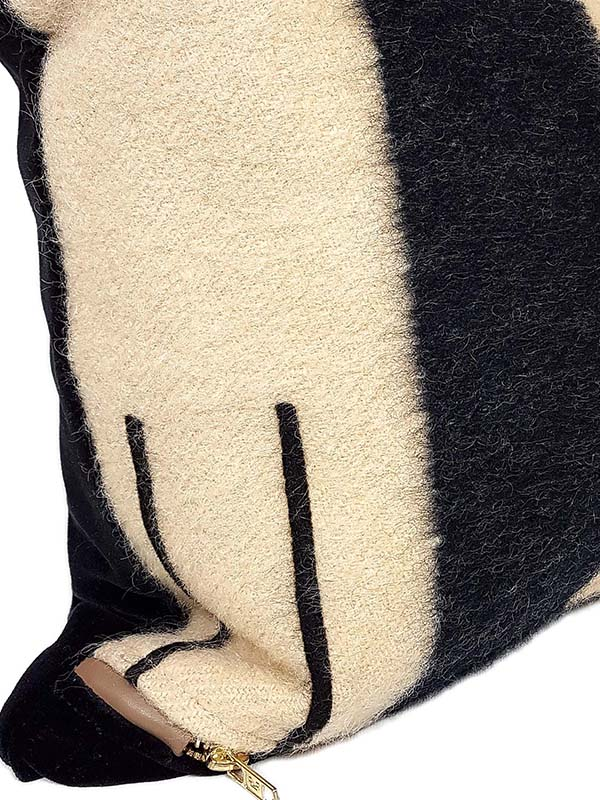 Vintage Hudson Bay 2 Point Lumbar Pillow Zoom